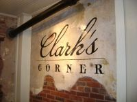 Clark's Wall Sign
