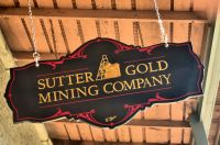 Sutter Gold Sign