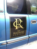 The Rhoades Company Vehicle Signage