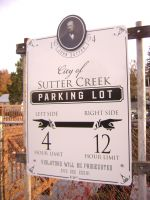 Sutter Creek Parking