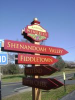 Amador Vintners New Directional Signage