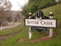 Sutter Creek Sign NORTH