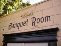 Clark's - Banquet Room Entrance