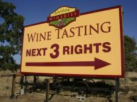 West End Wineries Sign