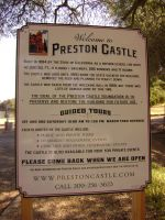 Preston Castle Info Sign