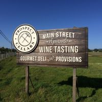 Prospect Cellars Billboard Sign
