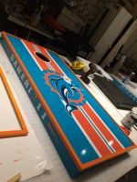 Miami Dolphins Corn Hole Game