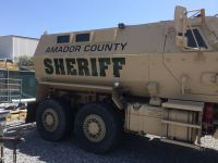 AMADOR SHERIFF MILITARY VEHICLE