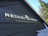 REDKEY GORDON FRONT SIGN