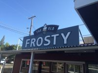 OLD FROSTY SIGN