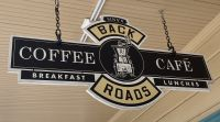 BACK ROADS CAFE SIGN