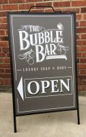 BUBLE BAR A FRAME