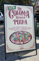 COLOMA PIZZA BURGER A FRAME