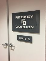 REDKEY GORDON 3D DOOR SIGNS