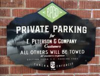 EPCO PARKING SIGNS